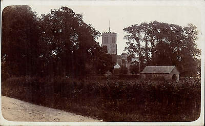 Hanmer. Hedge, Barn & Church.