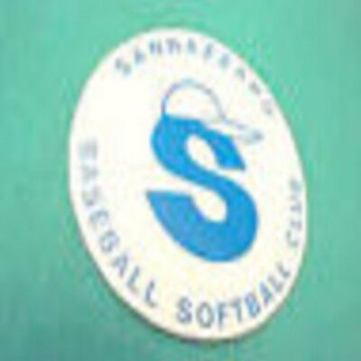 Sannazzaro Baseball Softball Club adesivo sticker RARO