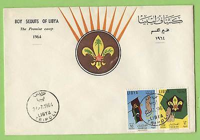 Libya 1964 Scouts Promise Camp First Day Cover