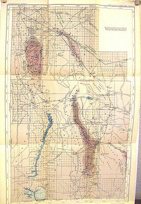 Geological Survey Water-Supply Paper, Map II  Grant County  New Mexico    1918
