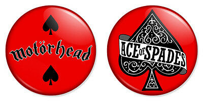 1 Inch D Pin Button Badge Ace Of Spades Playing Cards Novelty 25mm