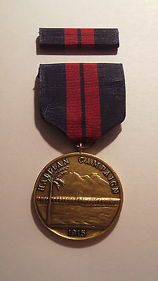 1915 U.S. Navy First Haitian Campaign Medal with RIBBON