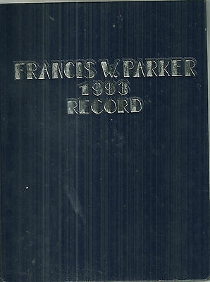 1993 Francis W. Parker School Chicago Yearbook High School