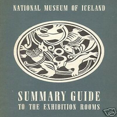 National Museum Guida Guide Iceland Islanda Illustrato
