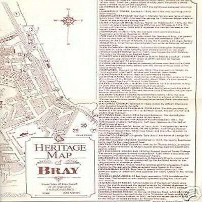 Heritage Map Of Bray Cartina Dettagliata Commentata Vip