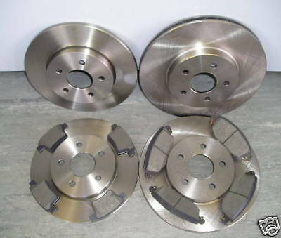 Mk3 Ford Mondeo 2005-2007 Front & Rear Brake Discs And Pads-Next Day Delivery