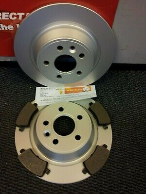 MK4 FORD MONDEO REAR BRAKE DISCS AND PADS 2007 On   NEW COATED DESIGN