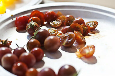 Vegetable Tomato Cherry Brown Berry 75 Finest Seeds