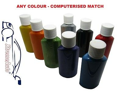 SCRATCH REPAIR Touch up Paint for a BMW Carbon Metallic Black 416 High Quality