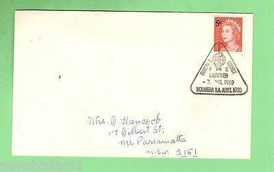 #D59. SPACE FLIGHT COVER - EUROPA 1, WOOMERA , 3rd JULY, 1969