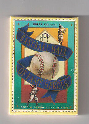 First Edition Baseball Hall Of Fame Heroes Factory Sealed Set