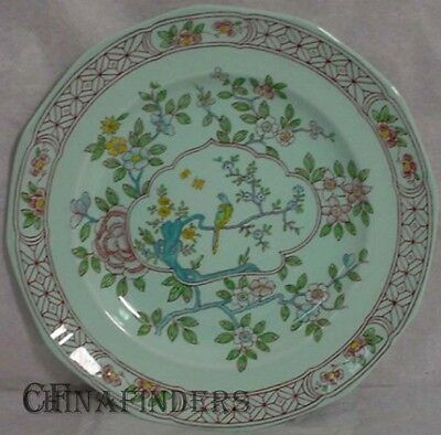 "ADAMS (Wedgwood) china SINGAPORE BIRD Dinner Plate 9 7/8"" Later Mark"