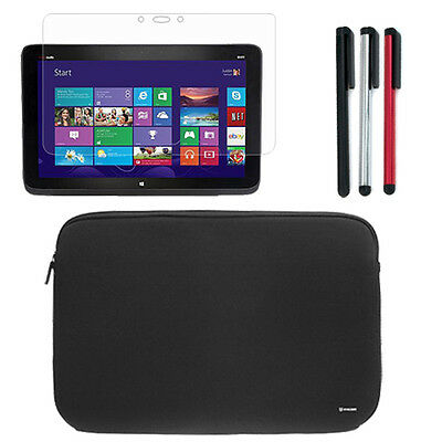 "Tablet Sleeve Case Pouch Cover Bag+3x Stylus+LCD For 13.3"" HP Split 13t-g100 x2"