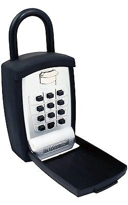 KeyGuard Pro Key Storage Lock Box Push Button Lockbox Alpha Numeric Key Safe