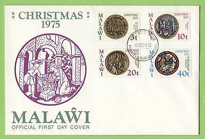 Malawi 1973 Christmas set on First Day Cover