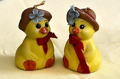 PAIR OF EASTER CHICK BELLS