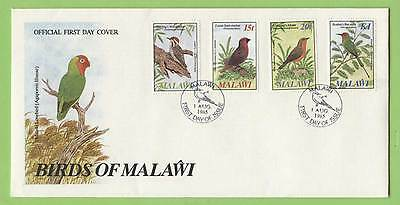 Malawi 1985 Birds set on First Day Cover