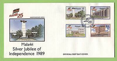 Malawi 1989 Silver Jubilee of Independence First Day Cover