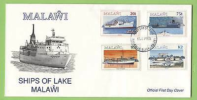 Malawi 1994 Ships of Lake Malawi set on First Day Cover