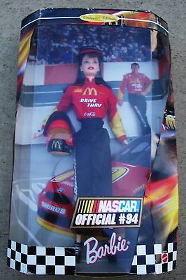 MATTEL NASCAR Official # 94 Barbie 1998 COLLECTOR EDITION 22954 NEW