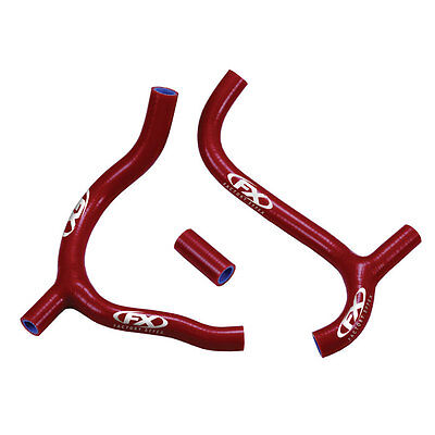 Factory Effex Radiator Hose Kit for RMZ450 08-14 Red