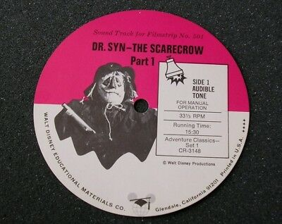 1960s SCARECROW OF ROMNEY MARSH Record Label - (DR. SYN)