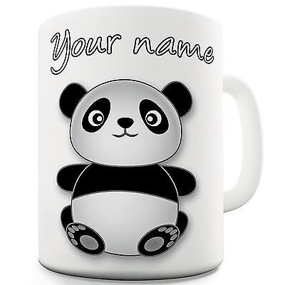 Custom Personalised Panda Cute Gift Mug