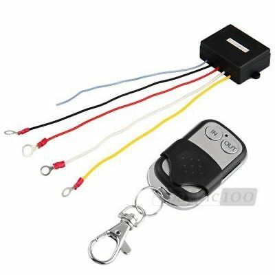 15m / 50ft 12V Wireless Winch Remote Control for Truck Jeep SUV ATV Warn Ramsey