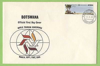 Botswana 1980 World Tourism Conference First Day Cover