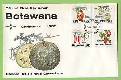 Botswana Christmas, Edible Wild Cucumbers set First Day Cover