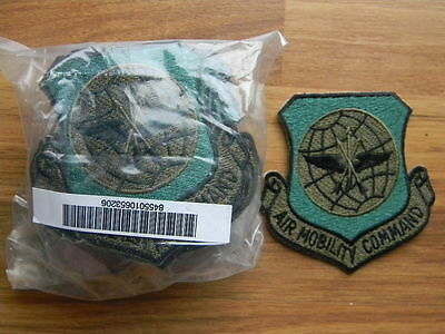 lot bundle of 20 USAF Air Mobility Command military patch patches