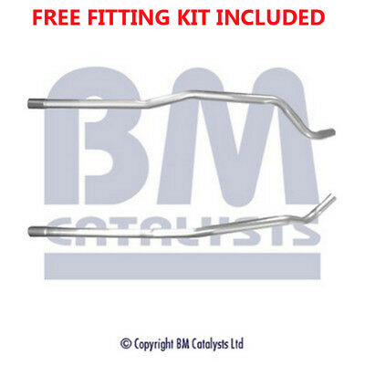 Fit with VAUXHALL CORSA Exhaust Connecting Link Pipe 50047 1.7 (Fitting Kit Incl