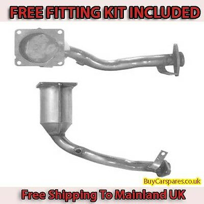 Fit with PEUGEOT 206 Catalytic Converter Exhaust 91007 1.4 (Fitting Kit Included