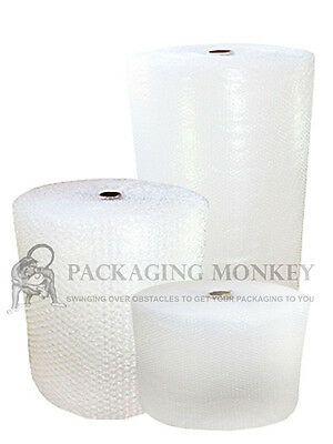SMALL & LARGE BUBBLE WRAP 300mm 500mm 750mm 1000mm 1200mm 1500mm x 10M 50M 100M