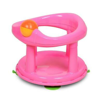 Safety 1st Swivel Bath Seat for Baby (Pink) 6-12m
