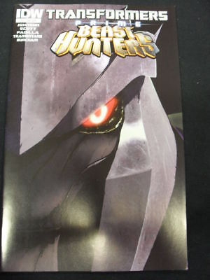 Transformers Prime: Beast Hunters #4 Sub Cover (Idw Comics)