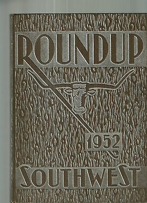 1952 Southwest High School St. Louis Missouri Yearbook