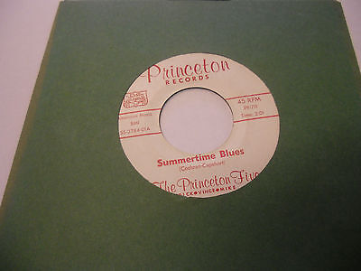 Princeton Five Passing By/Roll Over Beethoven 45 RPM Princeton Records VG+