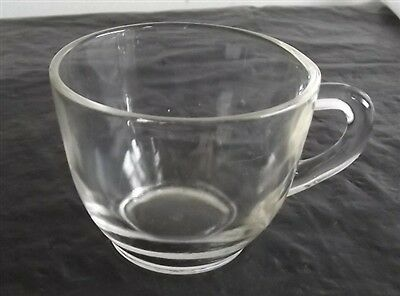 Vintage Federal Glass Clear Glass Cup
