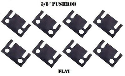 """Guide Plates 3/8"""" Push Rod FLAT Ford Small Block Guideplate 289 302 351W SBF"""
