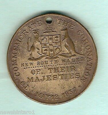 #d63.  1937  Coronation Medal - New South Wales