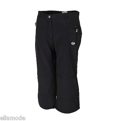6b33442c1 Sergio Tacchini Black White 3 4 Length Capri Tennis Training Pants Trousers  BNWT