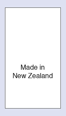 100 Made in New Zealand Sewing Washing Care Labels,