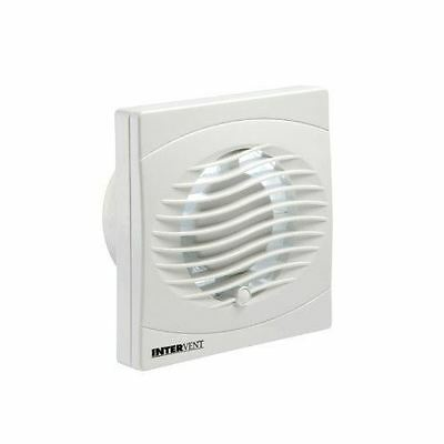 "Manrose 100mm/4"" Pullcord Bathroom/Toilet Extractor Fan Wall White"