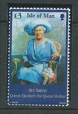 Isle Of Man 2002 Queen Mother £3  Sg982 Unmounted Mint