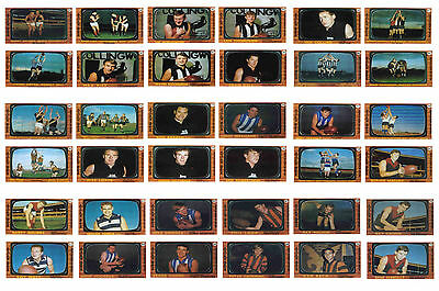 Australian Footballers 1967 - New Collectable Postcard Set # 2
