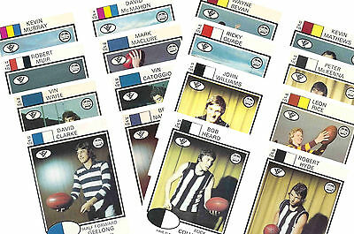 Australian Footballers 1975 - New Collectable Postcard Set # 1
