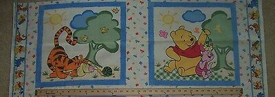 Winnie the Pooh & Friends Summer DayPillow Panels - Set of 2