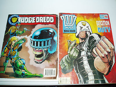 vintage judge dredd comics