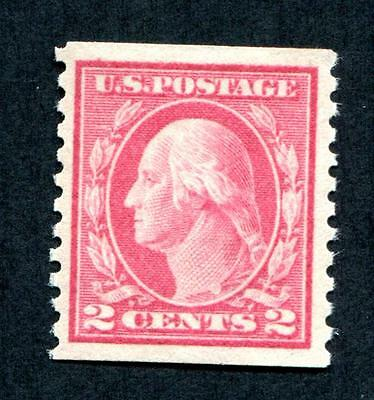 #444 - Mint and nearly XF - appears MNH except for tiny gum disturbance -Beauty!